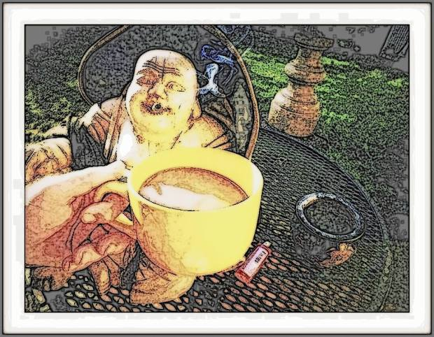 COFFEE WITH BUDDHA by SCOTT UTLEY
